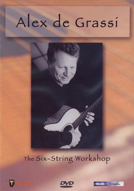 ALEX DE GRASSI:SIX STRING WORKSHOP BY DE GRASSI,ALEX (DVD)